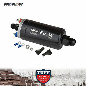 proflow efi 380lh 1000hp external fuel pump e85 compatible bosch 044 style new 9338762055886 ebay. Black Bedroom Furniture Sets. Home Design Ideas