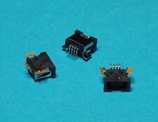3 X USB Aiptek Mini B Buchse 4-Polig Stecker zum Löten Female Plug SMT SMD