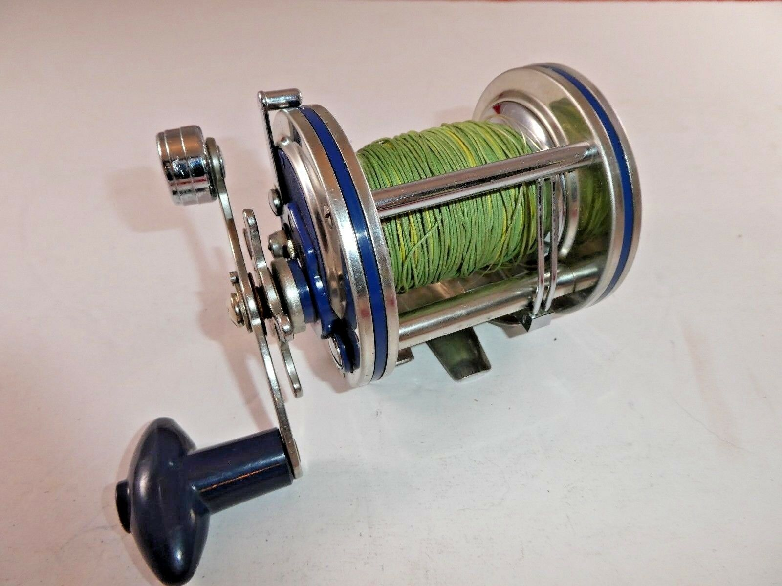 Olympic Dolphin 625 Level Wind Saltwater Fishing Reel, Vintage