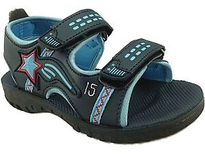 1c58eeca4d1 Image is loading New-Boys-Gezer-Gladiator-Sandals-Beach-Hiking-Walking-