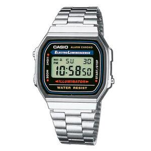 Reloj-Casio-A168WA-1YES-Cronografo-Vintage-Envio-24h-Gratis