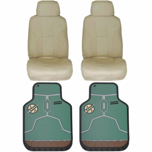 Official Licensed Star Wars Floor Mats /& UAA Seat Covers Universal Car Truck New