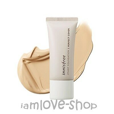 [Innisfree] SMART FOUNDATION - PERFECT COVER [SPF33 PA+++] 15ml mini size