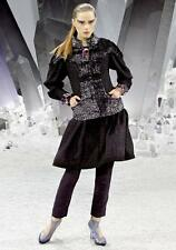 CHANEL 3-Collection Fall-Winter 2012/13 Wool Tweed Dress Sz:34 Retail $4,610 NEW