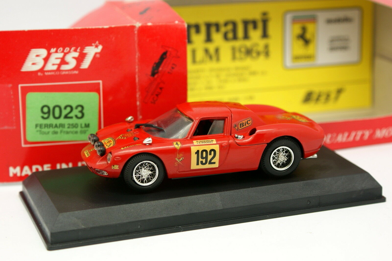 Best 1 43 - Ferrari 250 LM Tour de France 1969