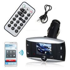 LCD Bluetooth Wireless FM Transmitter Modulator Car Kit MP3 Player SD USB Remote