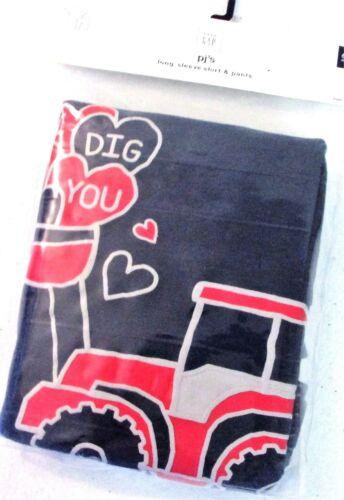 Baby Gap Boys 2 piece Pajama I Dig you Truck LONG SLEEVE SHIRT Blue PJ/'S $26