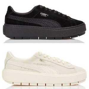 Shoes Suede Platform Trace Animal Puma