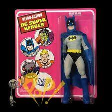 """DC Comics BATMAN 8"""" Retro Action Figure MATTEL Mego-Style 2010 Sealed!"""