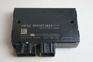 Anhaengerkupplung-Steuergeraet-Audi-A4-8K-A4-8W-A5-8T-8K0907383E-Original