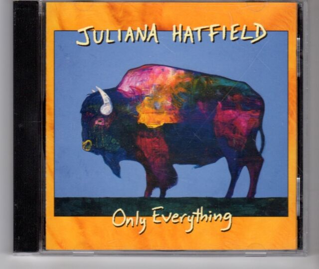 (HG637) Juliana Hatfield, Only Everything - 1995 CD