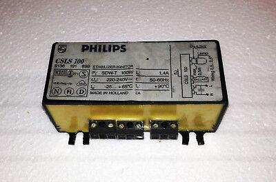 Philips Vorschaltgerät 100W SDW-TG für Natriumdampf Lampen GEBRAUCHT