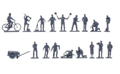 Vintage Classic Raf Personnel 1:76 Figure Plastic Model Kit AIRFIX