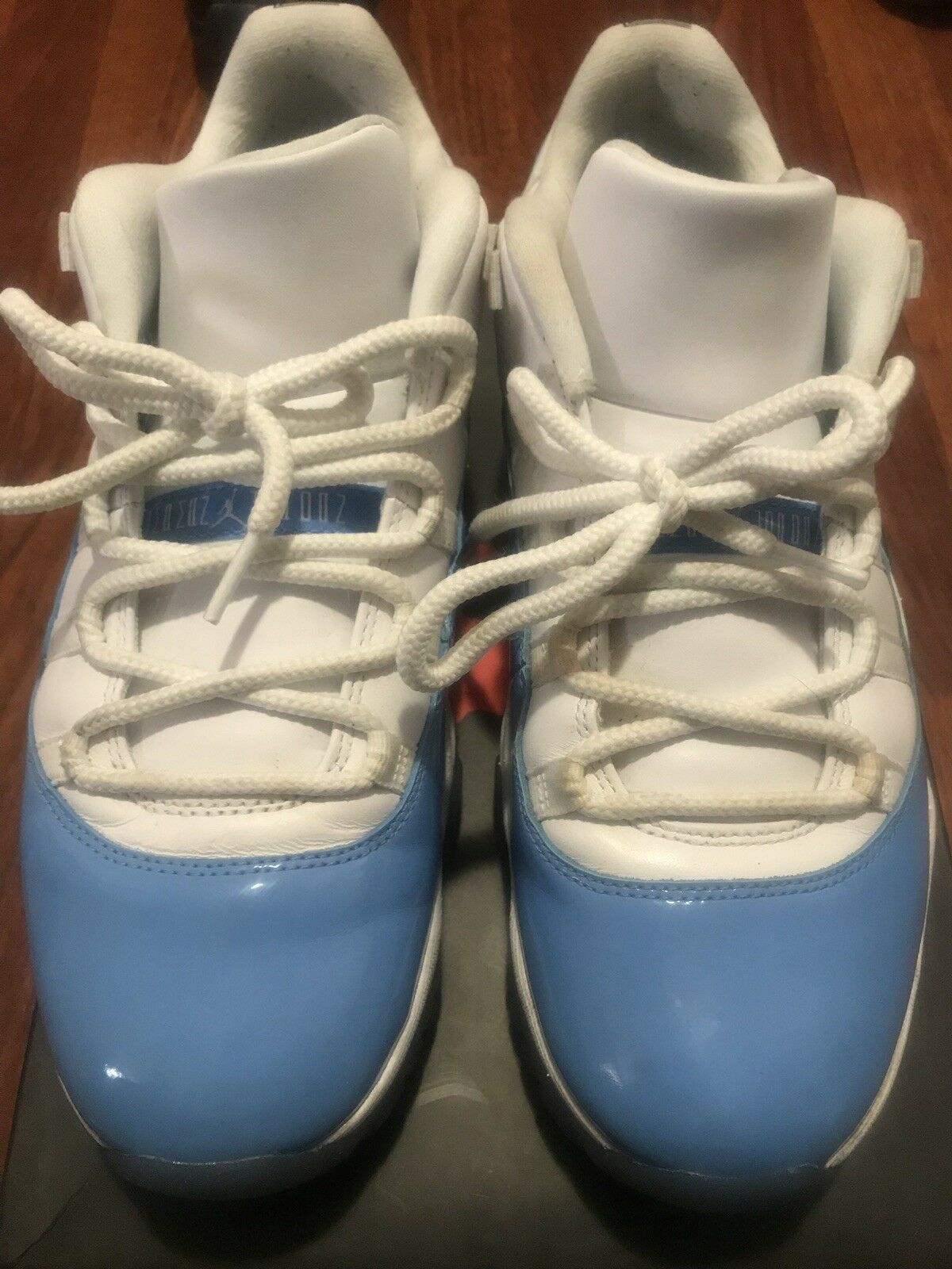 Nike Men's Air Jordan 11 Retro Sneakers - Sky Blue And White Size 10.5