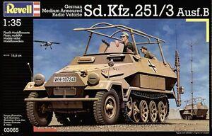 REVELL-1-35-KIT-VEICOLO-RADIO-CORAZZATO-TEDESCO-Sd-Kfz-251-3-Ausf-B-ART-03065