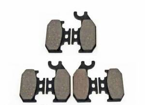 12 Brake Pads Fit Can Am Outlander ATV 400 500 650 800 2007 2008 2009 2010 2011