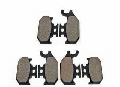 Front Right Organic Brake Pads For 2007-2008 CAN AM Outlander Max 800 XT 4X4