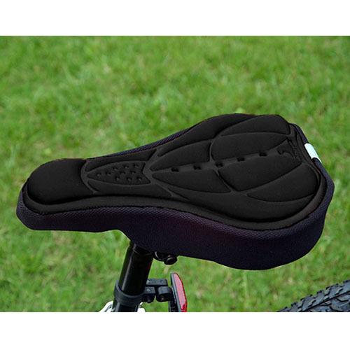 Cyclisme Vélo Selle Coussin d/'éponge housse de siège vélo doux épais noir
