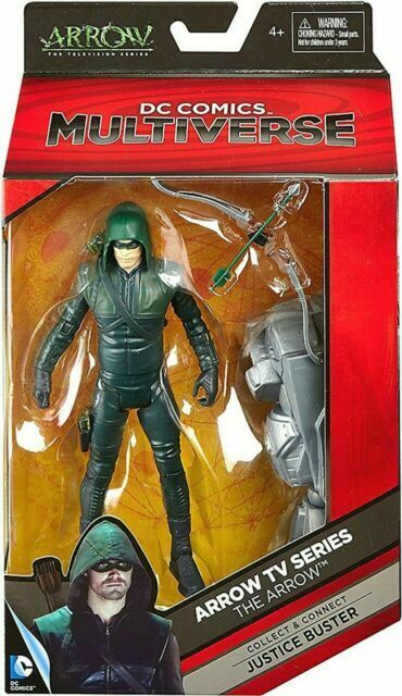 The ARROW from the TV series by DC Comics Multiverse SEALED by Mattel w BAF toy
