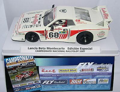 Rapture Fly 99094 Lancia Beta Montecarlo Cto.nacional Rallyslot 2007 Off.drivers Lted.ed Spielzeug Elektrisches Spielzeug