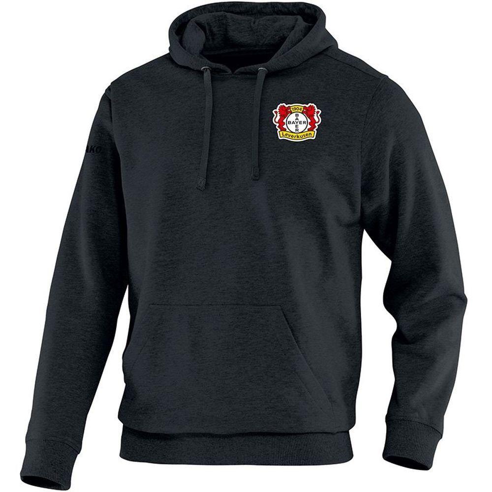 Jako Fußball Fußball Fußball Bayer 04 Leverkusen Kapuzensweatshirt Team Herren Hoodie schwarz d01621
