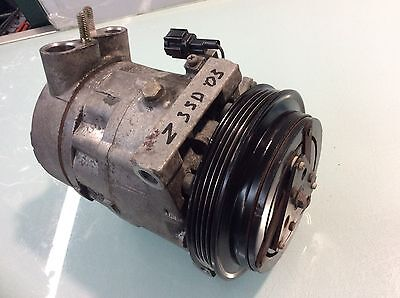 03 04 05 NISSAN 350Z AC A/C AIR CONDITIONING CONDITIONER COMPRESSOR OEM J