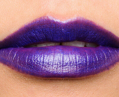 NYX Wicked Lippies Immortal Dark Violet Purple Lipstick WIL07 Factory Sealed New
