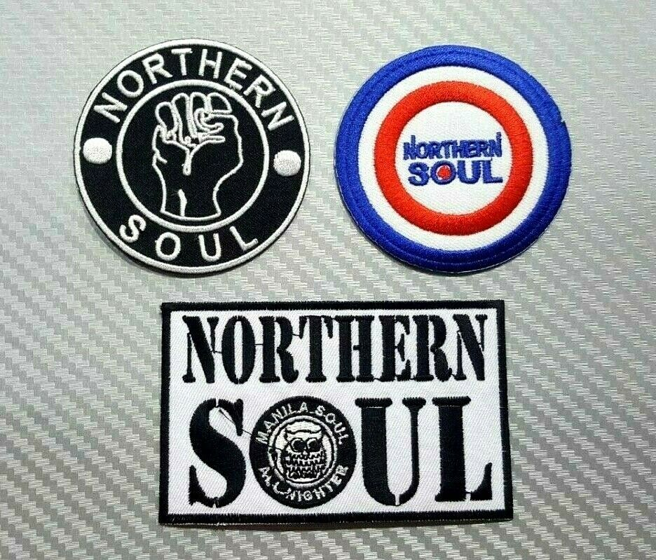 Northern Soul Embroidered Iron In Patch New Do I Love You