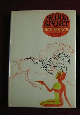 Dick Francis Blood Sport US 1st Edition
