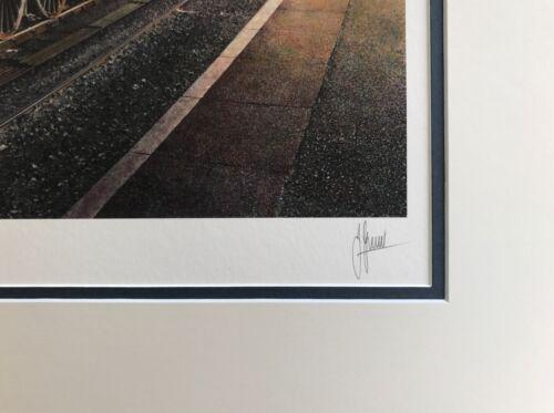 Railway Painting SIR NIGEL GRESLEY 60007 Steam Train Print By Artist James Green