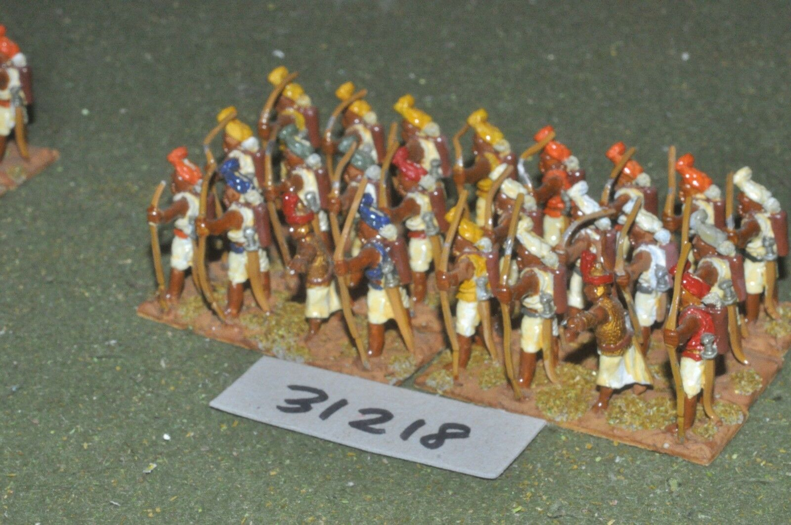 25mm classical   indian - archers 24 figures - inf (31218)
