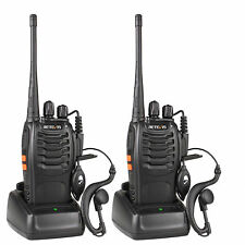 2X Hand-Funkgerät WalkieTalkie Retevis H777 UHF 16CH 1000mAh Two Way Radios