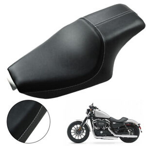 Motorcycle 2 Up Seat  Driver Passenger Seat for Harley SuperLow XL883L 2011-2016