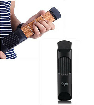 Portable Pocket Guitar Mini Gadget Tool 4 Fret Strings Great for Beginners Mo
