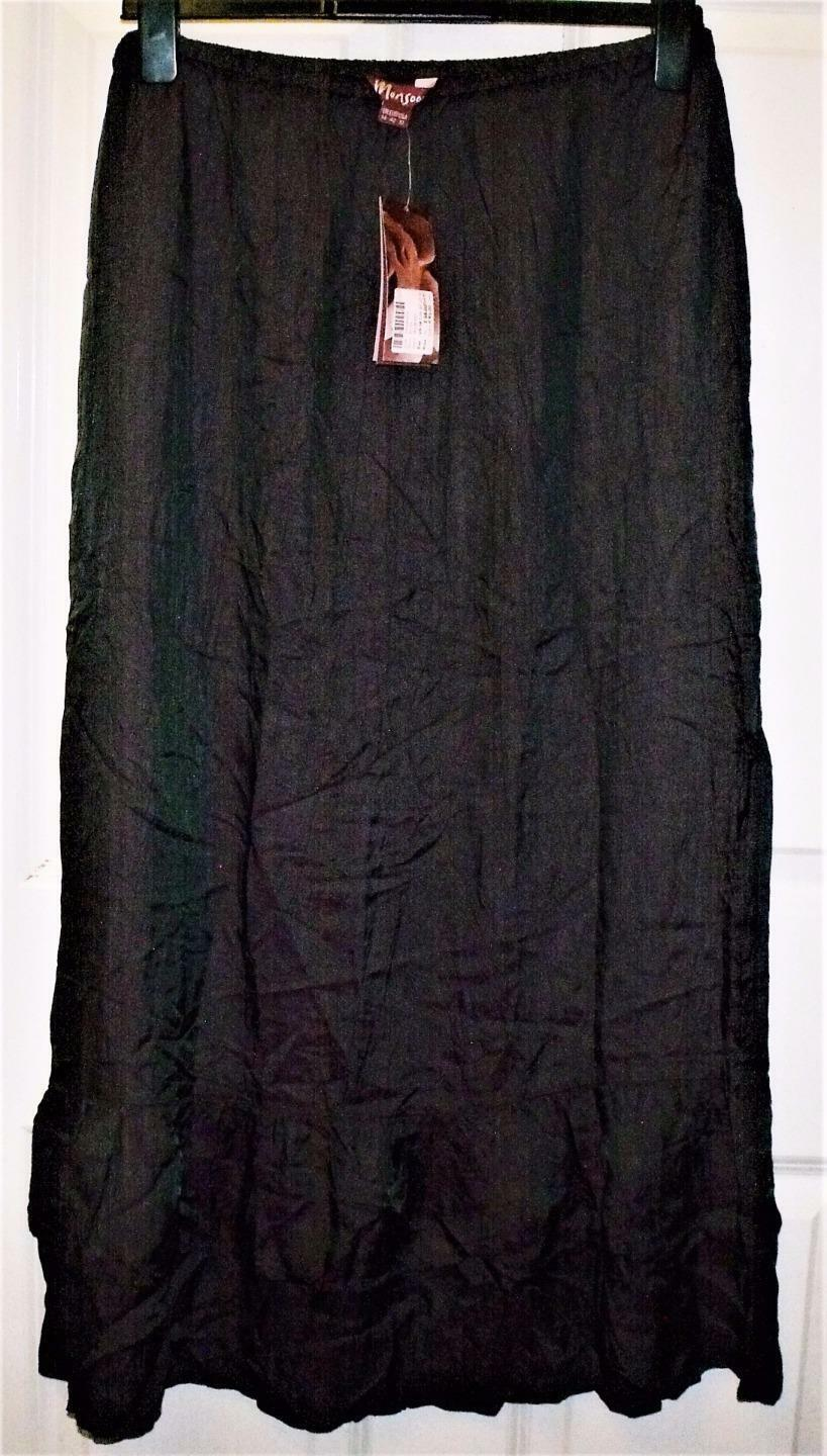 BRAND NEW BEAUTIFUL MONSOON PULL ON PURPLE BOHO GYPSY SKIRT SIZE 14