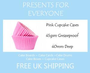 100 x Rose Layette Muffin / cupcake cas  </span>