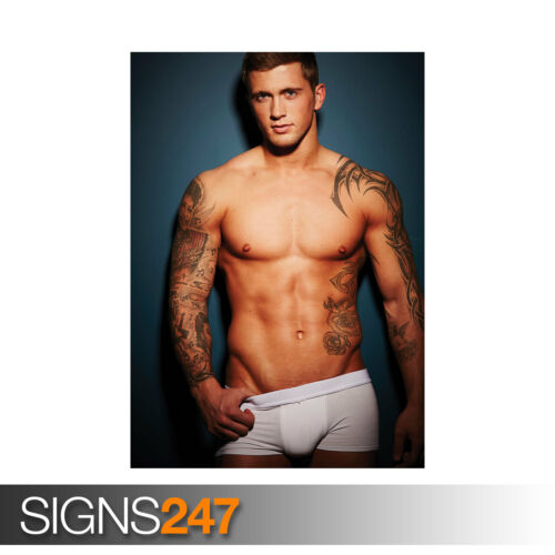 2128 Celebrity Poster DAN OSBORNE ABS Photo Poster Print Art A0 A1 A2 A3 A4