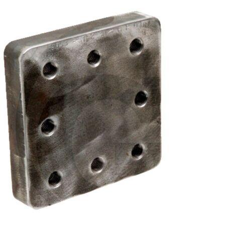 Anschweißplatte für Zugöse an Landwirtschaftlichen Anhänger 220890016