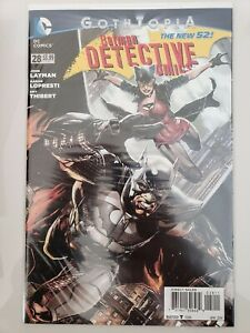 BATMAN-DETECTIVE-COMICS-28-2014-DC-52-COMICS-GOTHTOPIA-JASON-FABOK-COVER-NM
