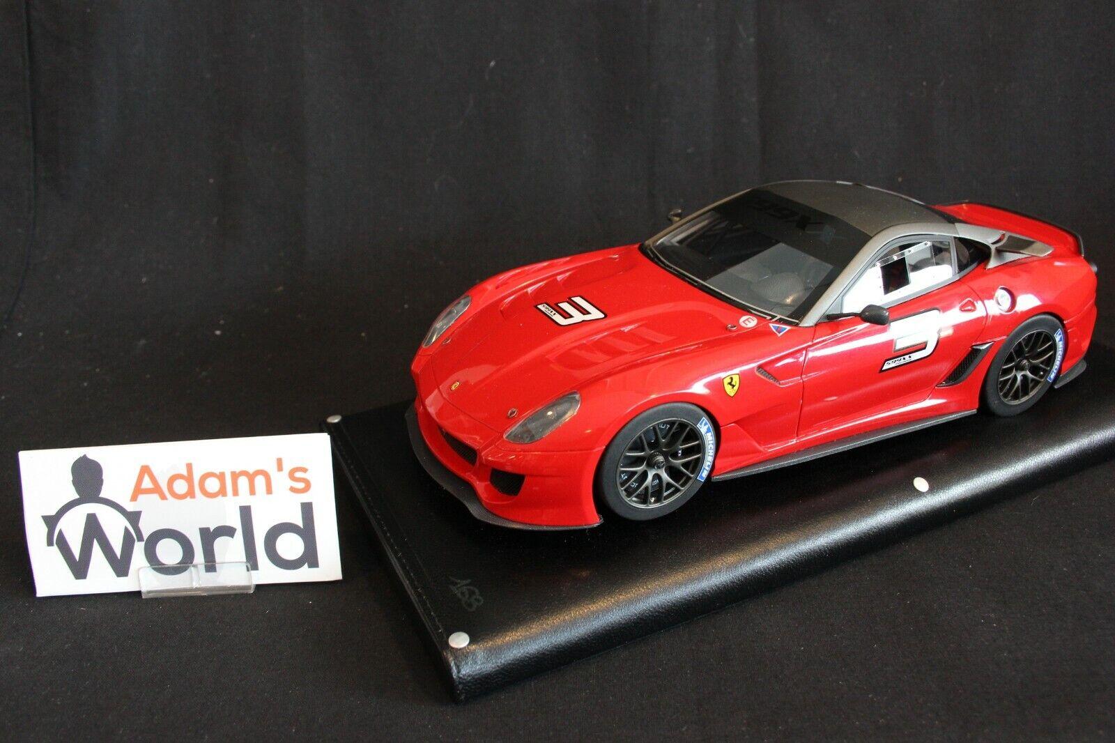 MR Ferrari 599XX 1 18  3 red (PJBB)