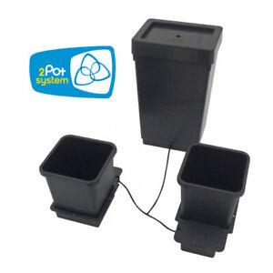 AutoPot 2 Pot System w/ 12.4 gal tank (3.9 gal pots) - AutoPot Watering Systems