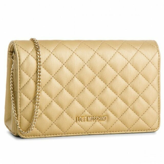 002c79b4314 Love Moschino - Jc4095pp16lo Clutch Bag Yellow for sale online | eBay