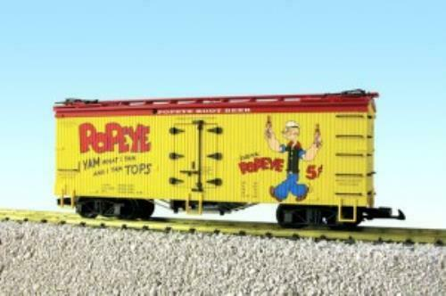 USA Trains USAR16443 Reefer   Popeye Root Beer