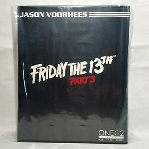 Mezco Toys One:12 Friday The 13th Part 3 Jason Voorhees Action figure IN STOCK
