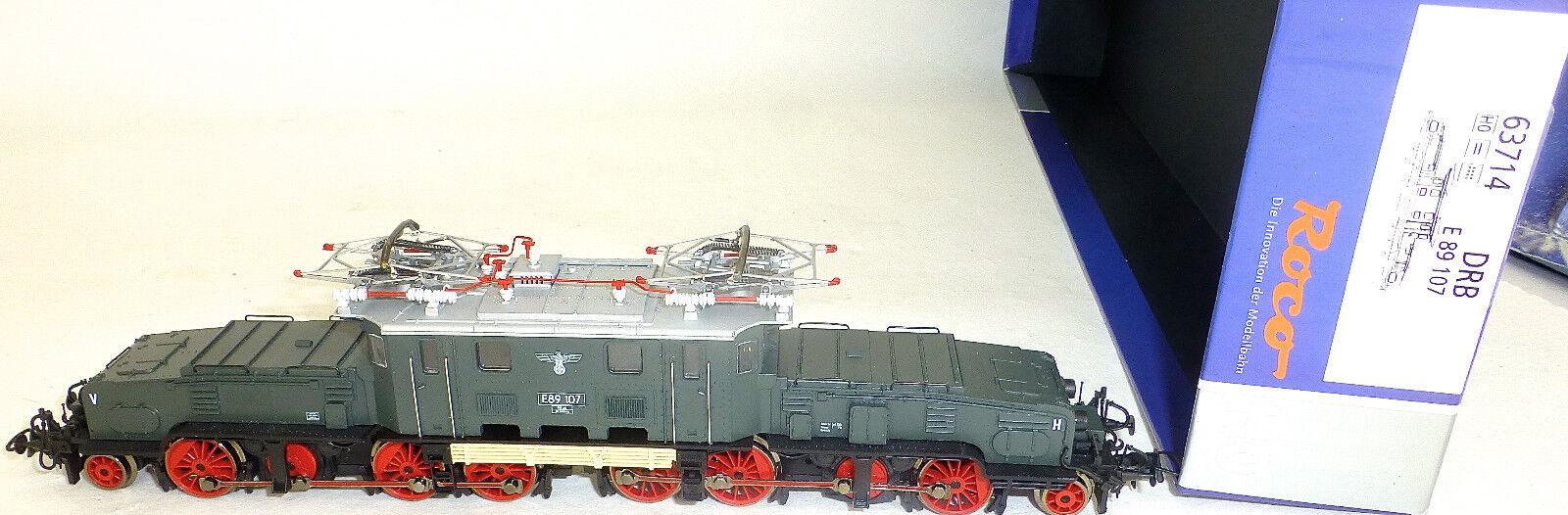 89 Drb Crocodile E Locomotive Nem Kkk Dss Roco 63714 H0 1 87 Nip HC1 Μ