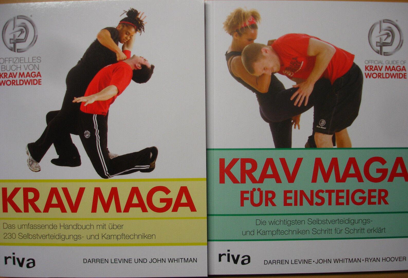 KRAV KRAV KRAV MAGA 2 x SelbstGrüneidigung Kampftechnik Training Hand-Buch Kampfsport NEU  | Marke  | Erste Gruppe von Kunden  | Schön und charmant  769173