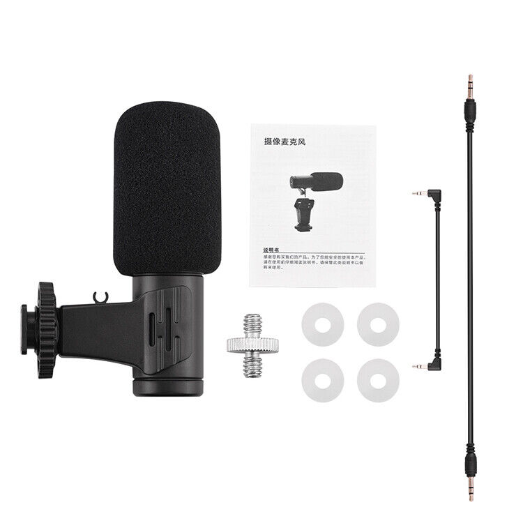 For DJI OSMO POCKET 2 Short/Long Microphone Condenser Recording Microphone SAT