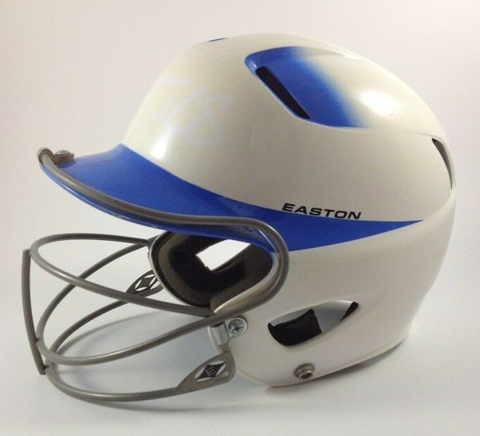 Easton Royal White Jr Batting Helmet Baseball Softball Mask Easton Natural