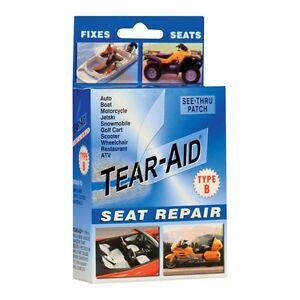 Tear Aid Kit Seat Repair Tent Sofa Shoe Car Atv Rip Fix