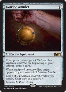 212//269 - M15 Magic 2015 Core Set Rare Avarice Amulet